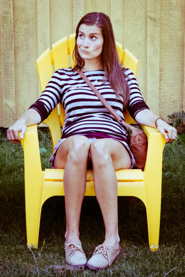 galiano - karissa and a yellow chair