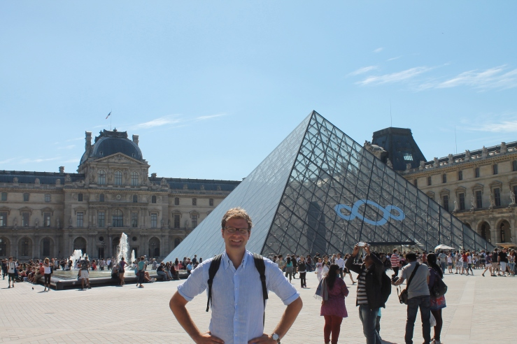Peter at the Louvre