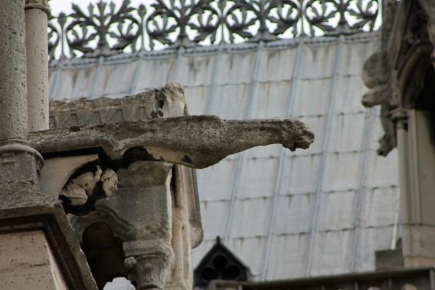 Gargoyles at Notre Dame