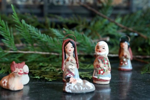 Our nativity scene