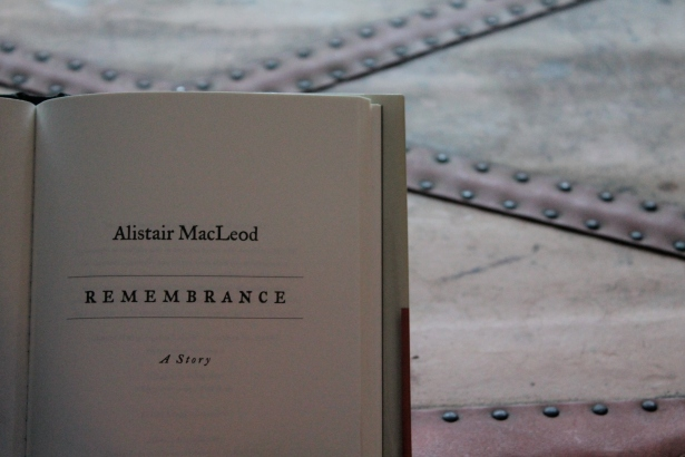 Remembrance, McClelland & Stewart, 2012
