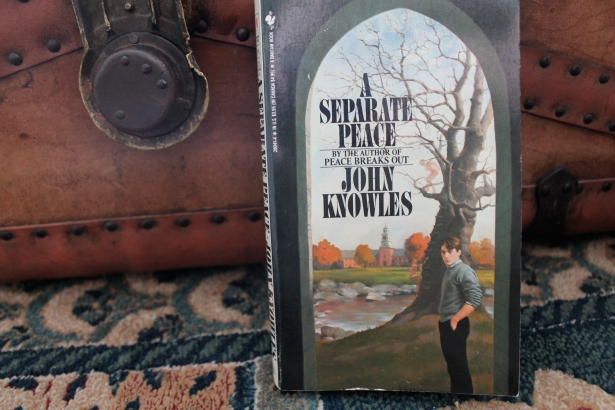 A Separate Peace - John Knowles (Bantam Books, 1988)