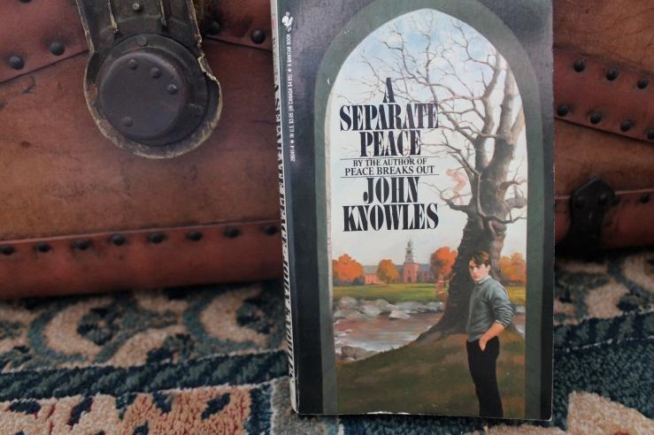 A Separate Peace - John Knowles (Bantam Books, 1988)