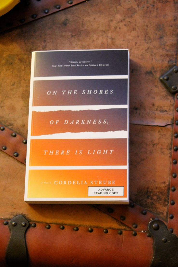 On the Shores of Darkness, There is Light - Cordelia Strube (ECW Press, 2016)
